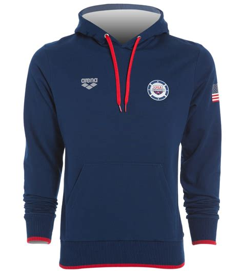 Sweat Usa arena usa swimming hooded sweatshirt at swimoutlet