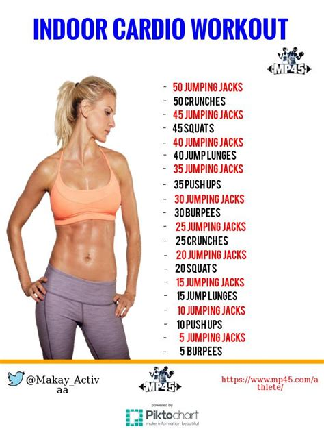 indoor cardio exercises