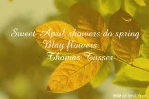 Sweet April Showers Do May Flowers by Sweet April Showers Do May Flowers By