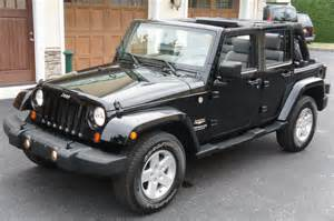 2007 jeep wrangler unlimited for sale black soft