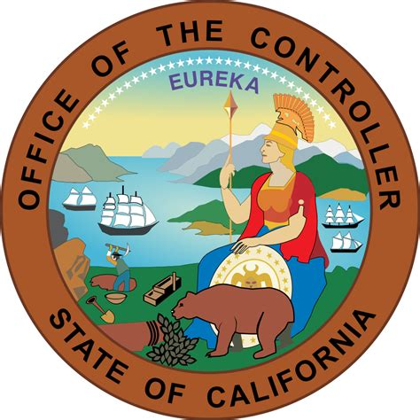 California State Records File Seal Of California Office Of The Controller Svg Wikimedia Commons