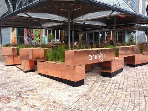 box project outdoor restaurant patio