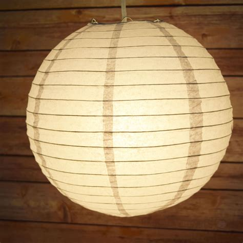 Paper Lanterns - 16 quot gray grey paper lantern even ribbing hanging