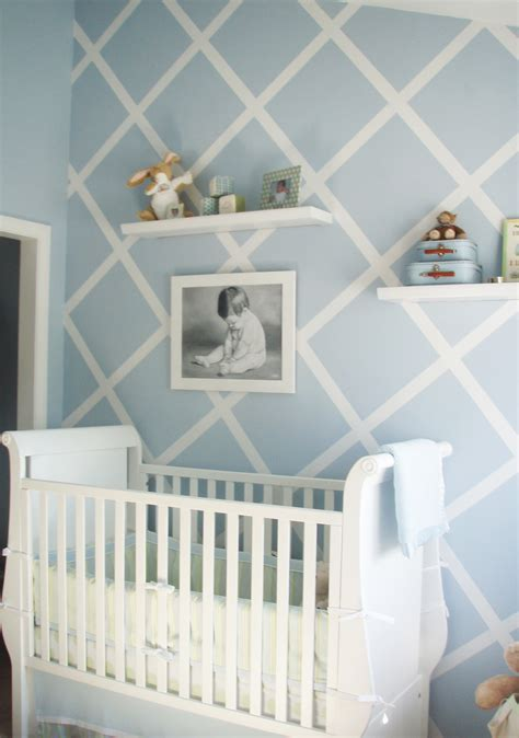 design reveal modern baby blue project nursery
