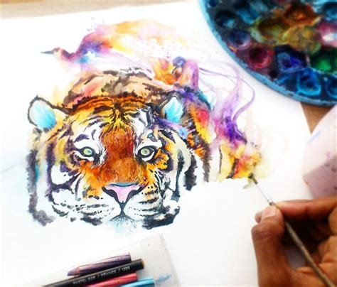 watercolor tattoo artist jakarta 186 best jongkie watercolor paints images on pinterest