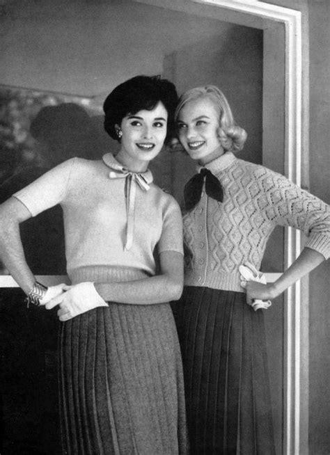 O street style nos anos 1950 era assim   Moda de 1950