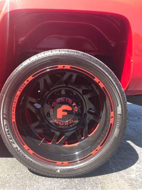 custom red chevy kodiak  xxx miles air