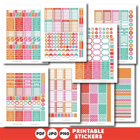 printable notebook stickers 17 best images about planner on pinterest free printable