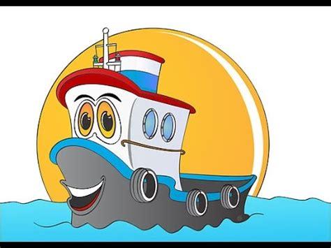 cartoon boat youtube dessin anim 233 de bateau pour les enfants youtube