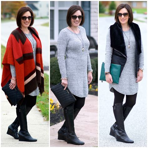 Sweater One Ways by One Sweater Dress Three Ways
