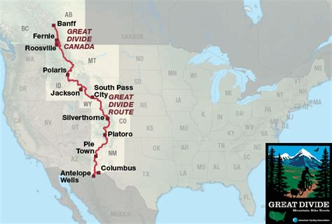 Great Divide by Great Divide Canada Adventure Cycling Route Network