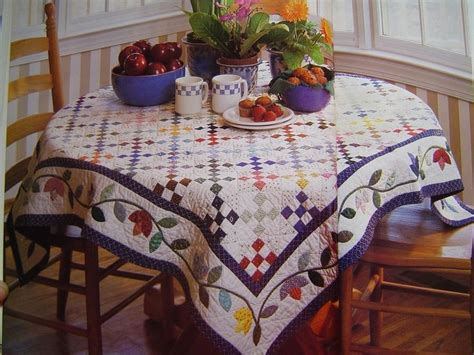 quilted tablecloth table linens quilted country tablecloth table runners