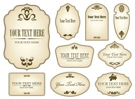 free label maker template free decorative label templates simple bottle label 01