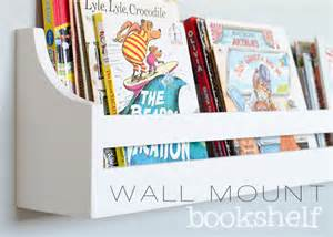 Childrens Wall Mounted Bookcase Wall Mounted Bookshelves The Golden Sycamore