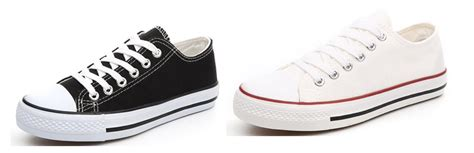overstock high and low top brand name classic canvas shoes
