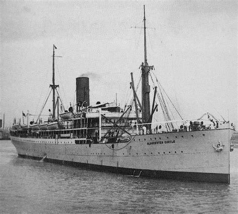 ship building ltd mail steamer gloucester castle built by fairfield shipbuilding engineering co ltd in 1911
