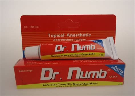 5 lidocaine dr numb pain relief topical pain tattoo