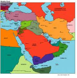 Map Of Middle East by What In The World Murder In The Middle East