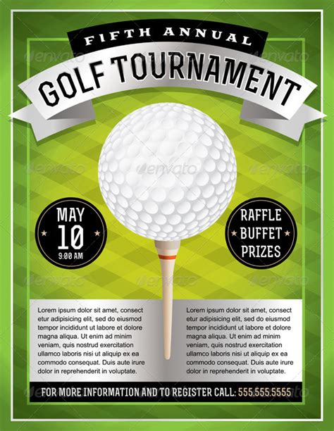 golf tournament flyer template ideas for golf scramble poster 187 tinkytyler org stock