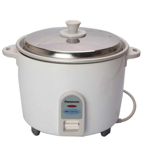 Rice Cooker Panasonic Panasonic Sr Wa 18 1 8l Rice Cooker White By Panasonic Electric Cookers And Steamers