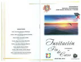 invitaciones de graduacion de secundaria invitaci 243 n de graduaci 243 n de secundaria imagui