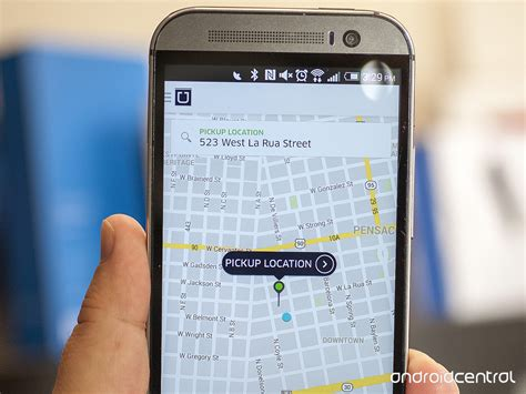 uber app for android uber and at t pair up will be preloaded on android phones this summer android central