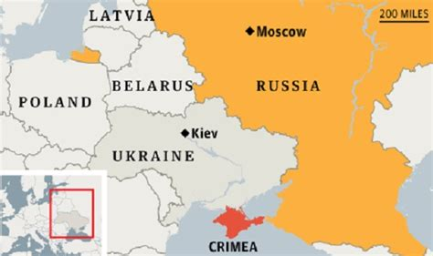 map ukraine and russia a level politics