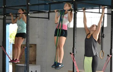 Pull Up Resistance Band Fitness successful pull ups for beginners say no to bands breaking