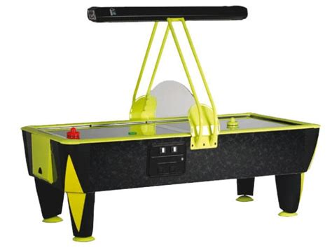 commercial air hockey table sam cosmic fast track 8 foot commercial air hockey table