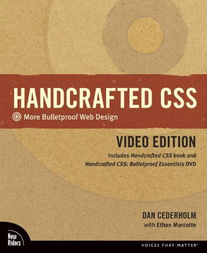 Handcrafted Css - handcrafted css in usability we trust