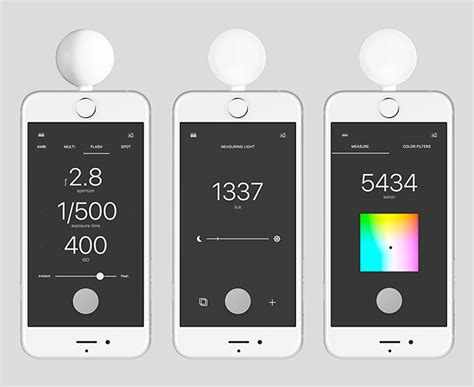 light spectrum meter app turn your iphone into a fully featured light color meter