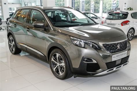 peugeot car price in malaysia 2017 peugeot 3008 launched in malaysia 1 6l turbo engine