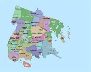 Map Of New York Bronx by Nycdata Neighborhood Maps By Borough