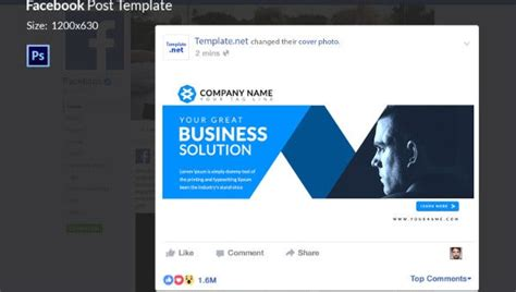facebook ad templates business discount sale