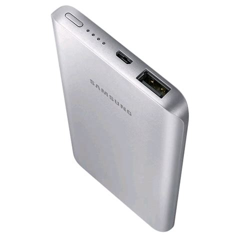 External Battery Pack Samsung samsung external battery pack silver 5200mah expansys