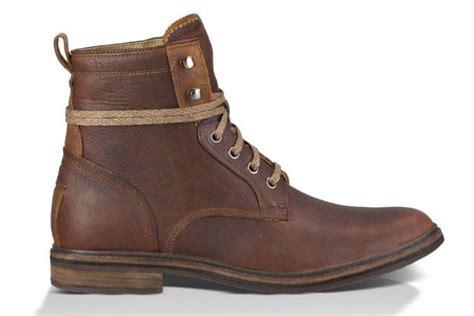 dapper leather hiking boots ugg australia selwood boots