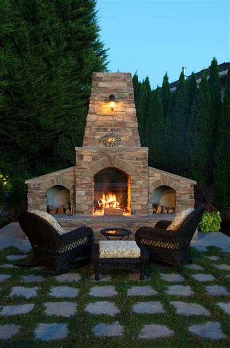 Backyard Fireplaces Ideas Best 25 Outdoor Fireplace Designs Ideas On Pinterest Outdoor Fireplaces Backyard Fireplace