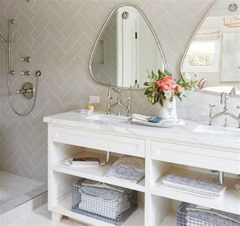 shelving in bathroom 20 bathroom open shelving ideas with pictures