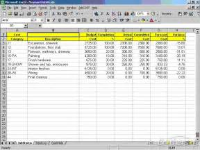 excel costing template image gallery costing sheet template