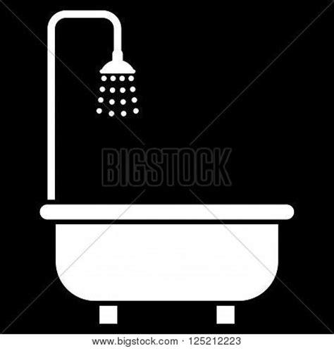 symbol for bathroom shower bath vector icon shower bath icon symbol shower