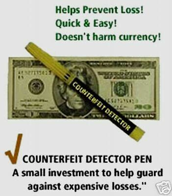 what color does a counterfeit pen turn counterfeit money detector pen currency detection protect