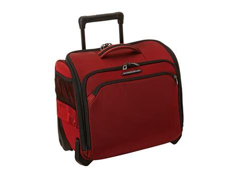 Briggs And Cabin Bag by Briggs Transcend Rolling Cabin Bag Zappos