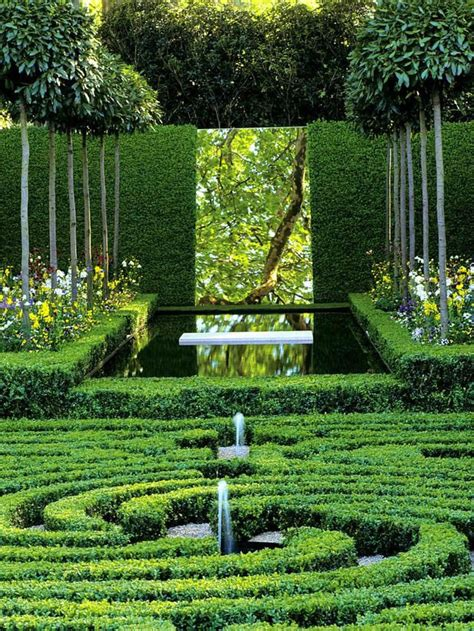reflecting ponds the trompe l oeil of the garden