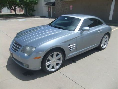 crossfire seats sell used 2005 chrysler crossfire limited coupe leather