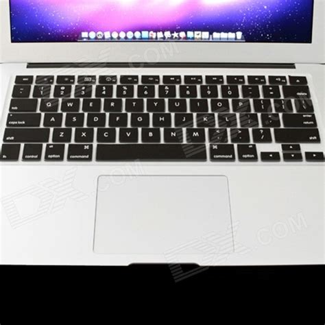 Matte Basic Keyboard Protector Dustplug Macbook Air 11 mr northjoe ultra slim matte keyboard cover