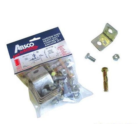 Anchor Kit For Metal Shed by Anchoring A Metal Shed