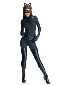 womens halloween costumes with masks deluxe dark knight catwoman costume