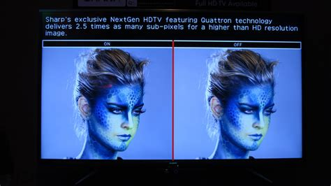 eric limer sharp s new quattron plus tv isn t 4k but it can fake it