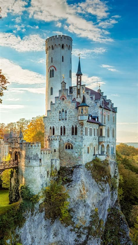 hd background baden wuerttemberg lichtenstein castle