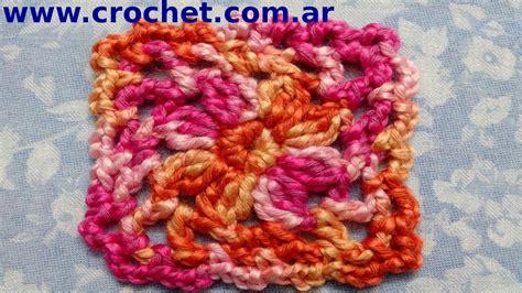 paso a paso motivo cuadrado granny square n 176 2 en tejido crochet